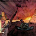 KSE tekenles klas Vwo4 1980-1981 'Surrealisme'