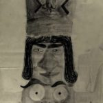 KSE tekenles klas 2E 1979-1980 Totempaal