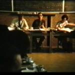 Nog een screenshot van de rapportvergadering