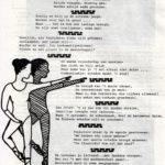 Libretto voor het ballet bij de opening