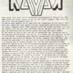 Verslag van het concert van Kayak