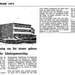 Verslag van de opening in de krant