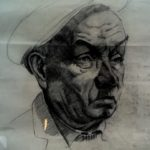 Oude portretstudie