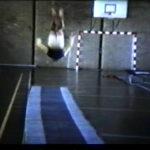 Salto op de turnmat