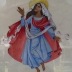 Ontwerp voor wandschildering in het kerkje van le Chambon