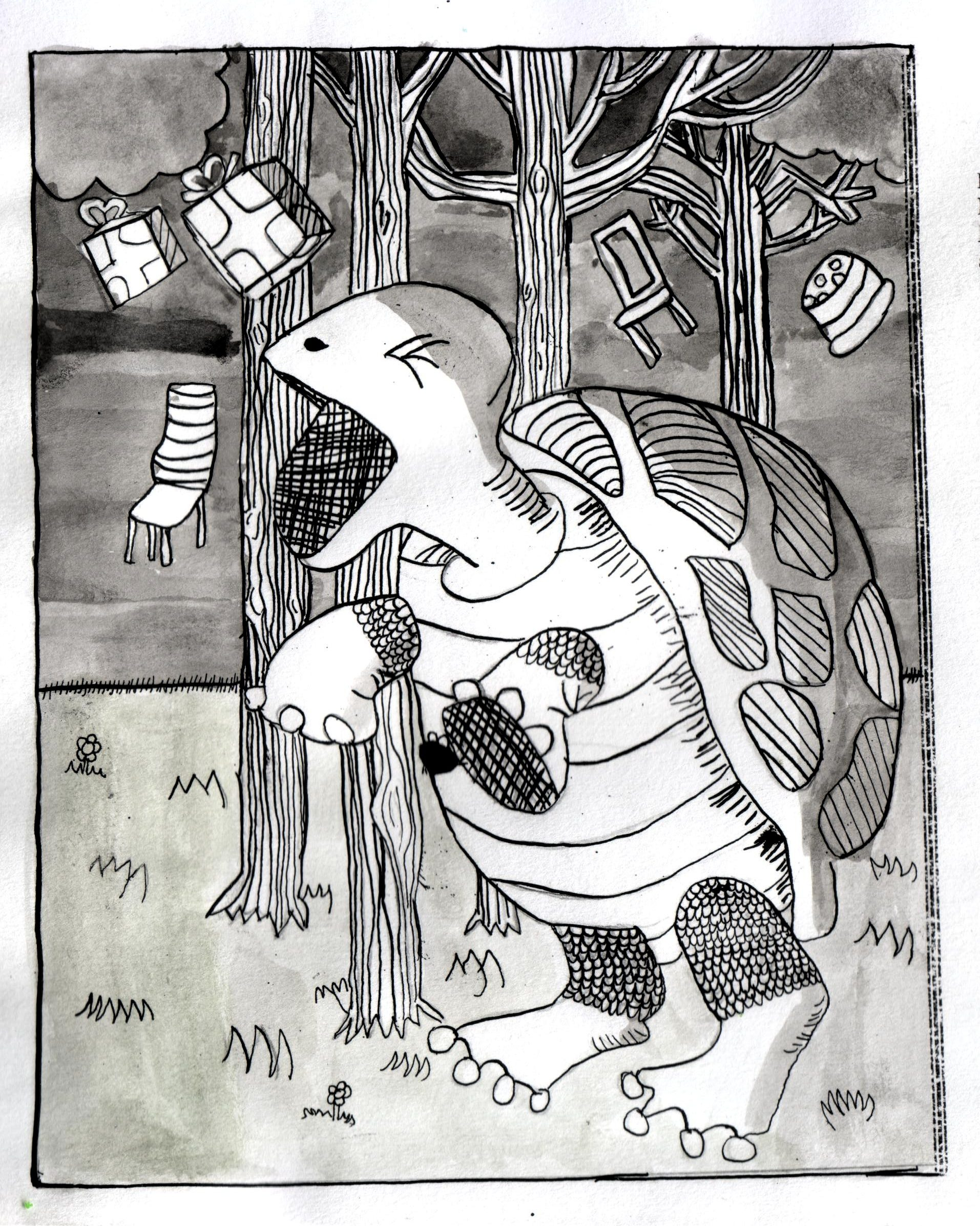 Brits illustratie eindwerkstuk