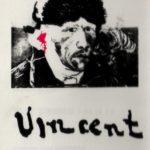 """Achterkant """"De modellen van Van Gogh'"""