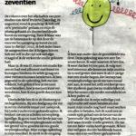 Reactie op het artikel van Aleid Truijens in de krant van 2/9/2017