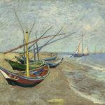 Het uitgangspunt: Vissersboten op het strand van Les Saintes Maries de la Mer