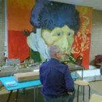 Even een onderonsje met van Gogh als toeschouwer