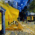Het uitgangspunt: Cafe terras bij nacht