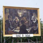 Billboardversie van De Aardappeleters