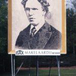 Het billboard met sponsorbord