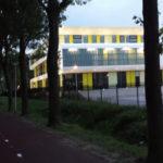 Het voltooide gebouw