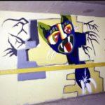 Schildering 8 'Pussycat'