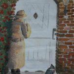 Gedonder bij de voordeur