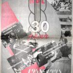 Titelblad Gazet jubileumkrant KSE 30 jaar