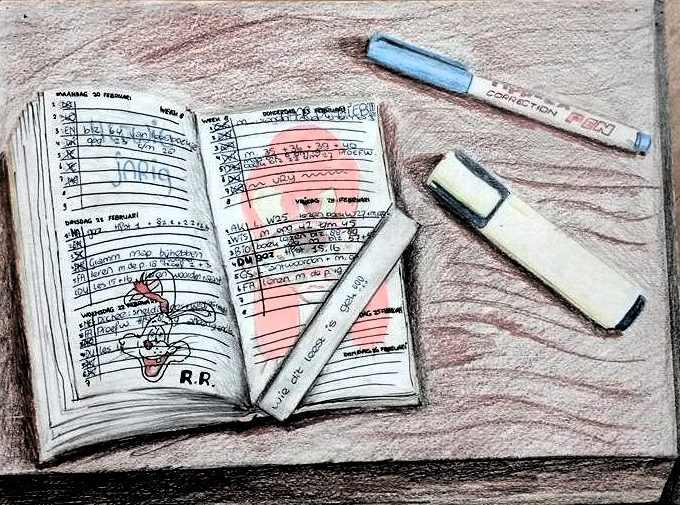 Tromp d'oeil: mijn agenda