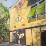 Mavo. muurschildering