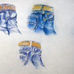 Studie voor LEE-jeans