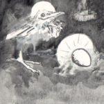 Vogel Jozef, detail kerstkaart 1