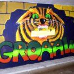 Schildering 10: 'GROAAW'