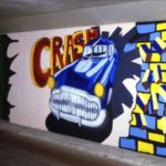 Schildering 12: 'CRASH!'