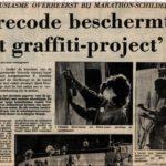 Bericht in Dagblad De Stem van 10 okt.1986