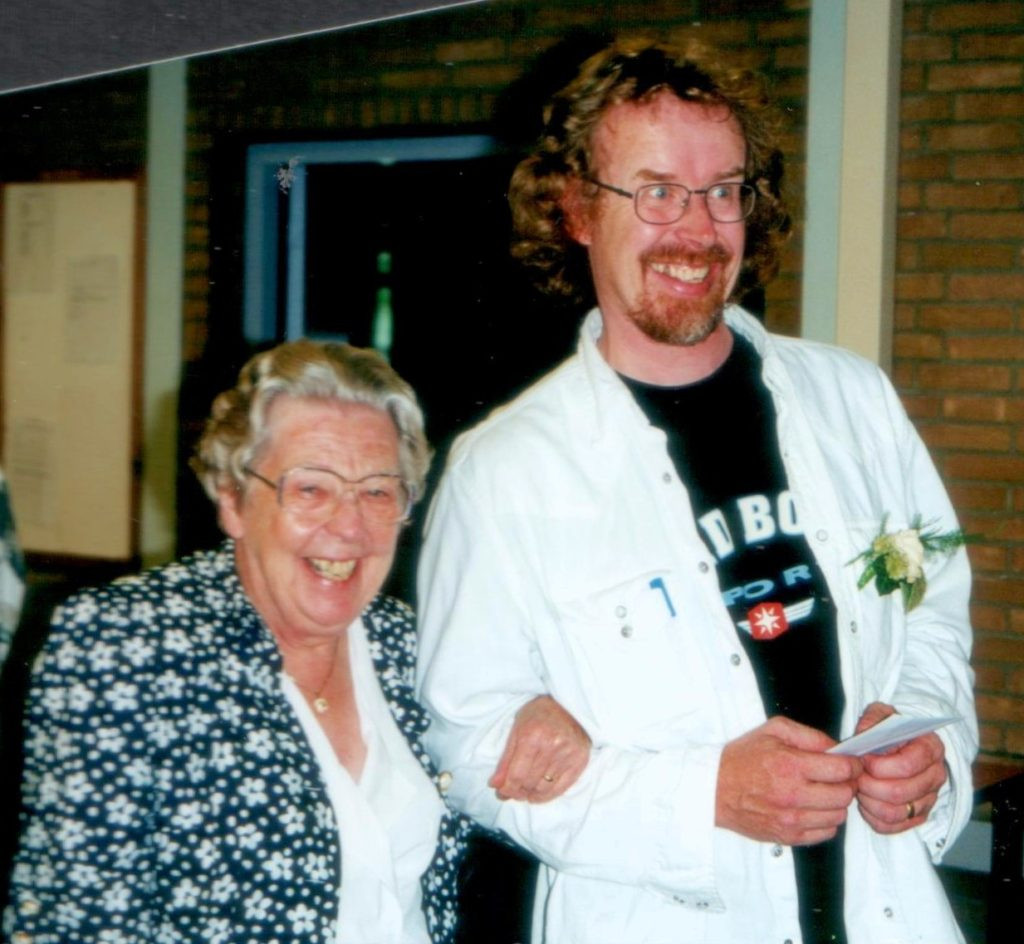 Met mijn lieve oud-collega Virgo