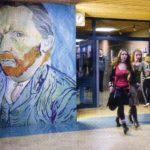 Zelfportret Van Gogh in de gang