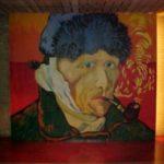 Zelfportret Van Gogh in de hal