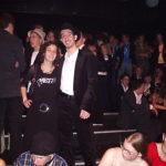 Celine en Philip op het grote premièrefeest in 013