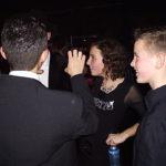 Celine op het grote premièrefeest in 013