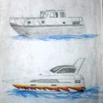 1991 Boten, striping
