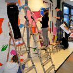 Ook de leerlingen houden de kleuren steeds in de gaten