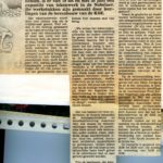 Artikel over de expo en het filmpje in de Gazet van 12 juni 1985