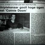 1994 artikel over strio 'Connie Doom'