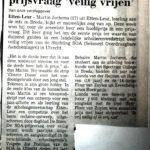 1994 Artikel in Dagblad De Stem