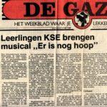 Artikel uit Weekblad De Gazet