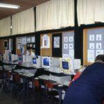 Meer screenies in het computerlokaal tijdens de Open Dag 1996
