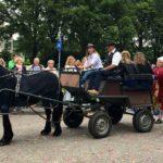 Met paard en wagen...
