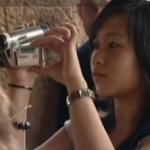 Phuong Thao aan het filmen voor haar reisverslag