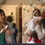 Bezoek aan een weeshuis