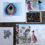 Inspiratiebron omslag en studies
