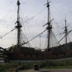 Replica van VOC schip de Batavia