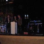 De drie (oud)rectoren bij de opening van de festiviteiten