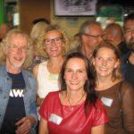 Op de foto met enkele van mijn fantastische oud-leerlingen