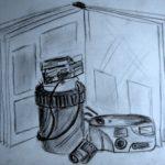 Studie stilleven 'fototoestel'