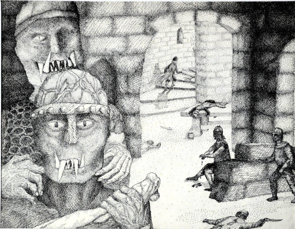 Pentekening Orks