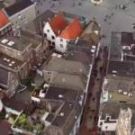 Shot vanuit de lucht van Den Bosch aan het begin van de film